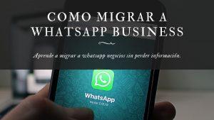 migrar whatsapp